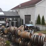 Oak Barrels filled to the brim