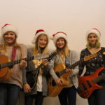 Small Town Girls entertain at our Annual Christmas Pot Luck Turkey Dinner