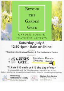 garden gate poster online