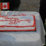Canada 150/Horticultural Society 35 Cake